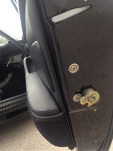passenger door latch